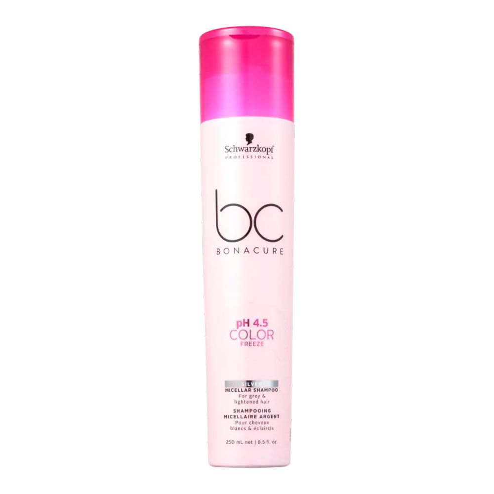 Shampoo Schwarzkopf BC Bonacure pH 4.5 Color Freeze Micellar Silver 250ml