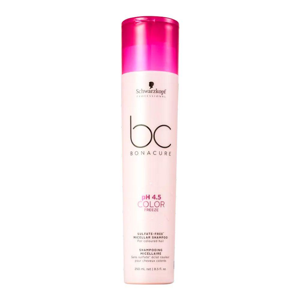 Shampoo Schwarzkopf BC Bonacure pH 4.5 Color Freeze Sem Sulfato 250ml