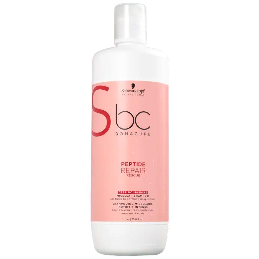 Shampoo Schwarzkopf BC Bonacure Peptide Repair Rescue Micellar Deep Nourish 1000ml