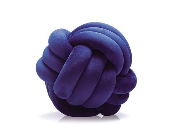 Almofada de Nó Azul Marinho 20 cm - Jolitex