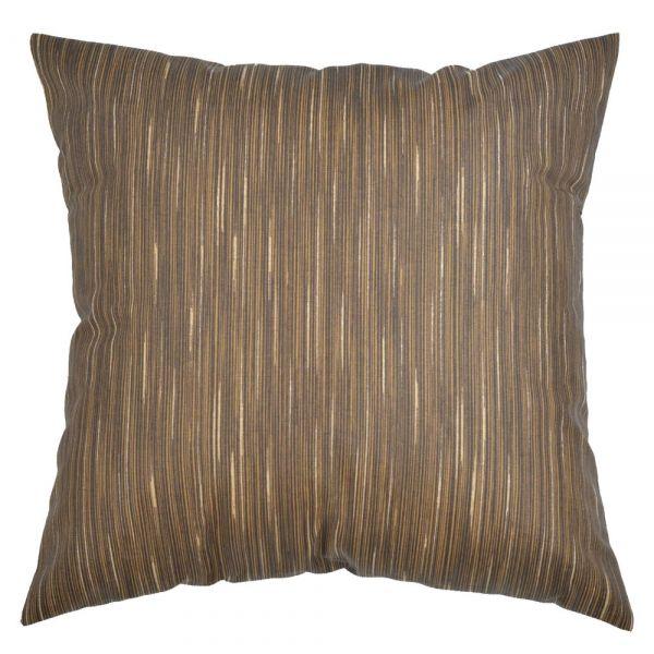 Capa de almofada decorativa 45x45 impermeável estampada marrom
