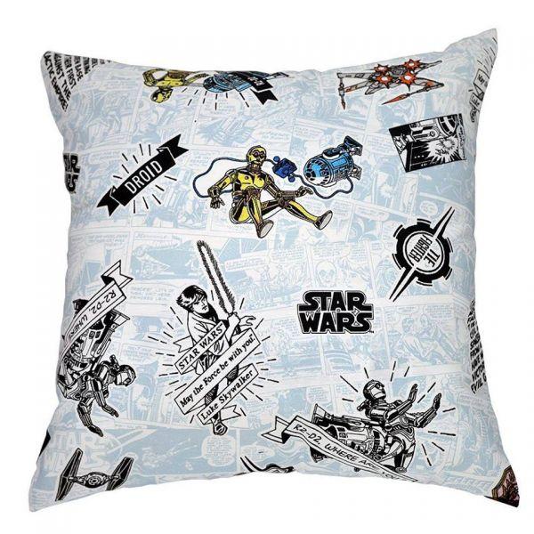 Capa de almofada decorativa infantil Star Wars
