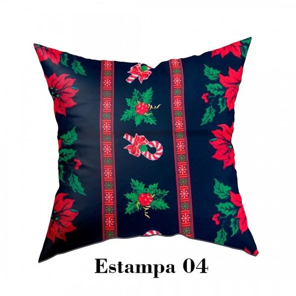 Capa para Almofada Natalina - Estampa 04