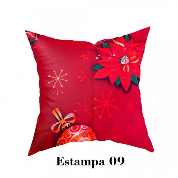 Capa para Almofada Natalina - Estampa 09