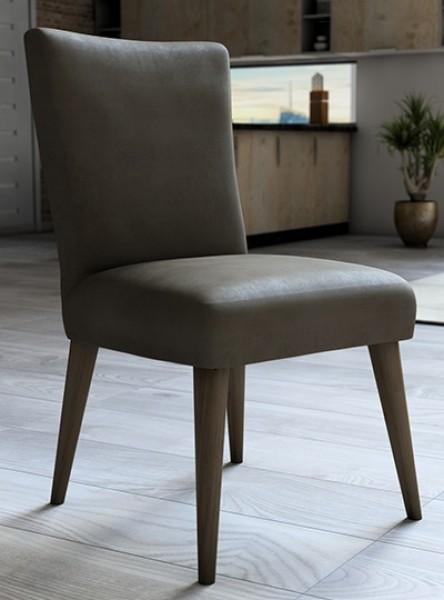 Capa para cadeira de veludo liso Castor - Adomes