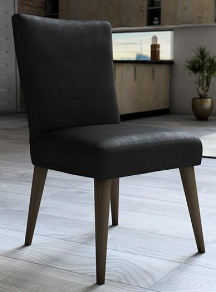 Capa para cadeira de veludo liso Preto - Adomes
