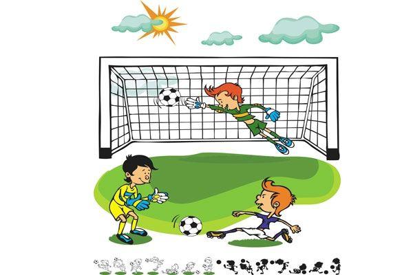 Cortina de malha infantil Futebol 1,80 m alt x 2,00 m larg - Adomes