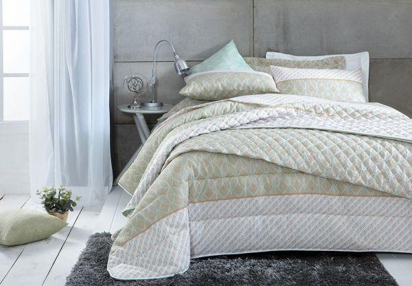 Jogo de cama casal duplo Arizona 140 fios - Realce Premium