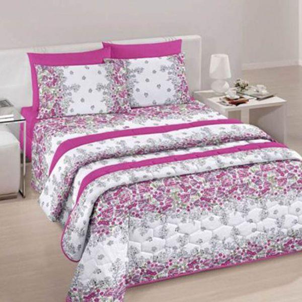 Jogo de cama queen Royal Marli 100% algodão estampado - Santista
