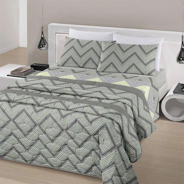 Jogo de cama solteiro Royal Leny 100% algodão estampado - Santista