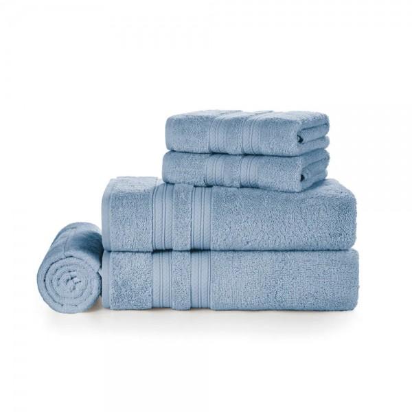 Jogo de toalha banhão 5 peças Unika Allure 100% algodão - Karsten