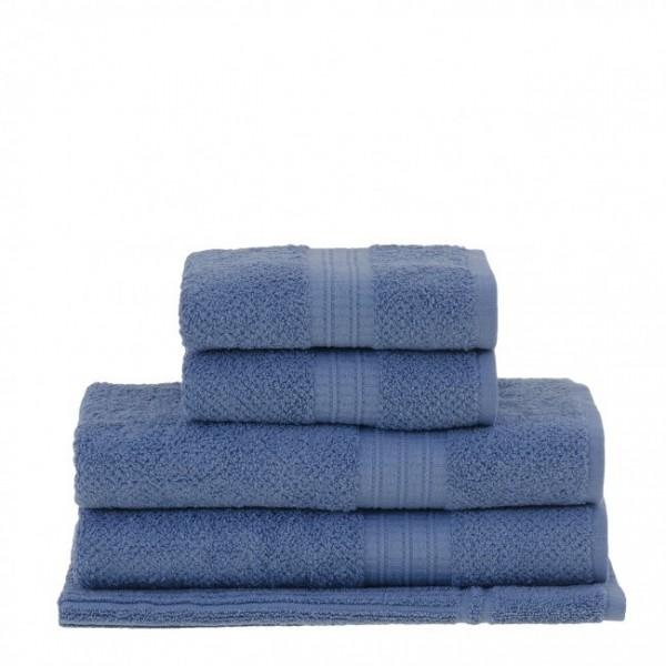 Jogo de Toalha de Banho 5 Peças Frape Azul - Buddemeyer