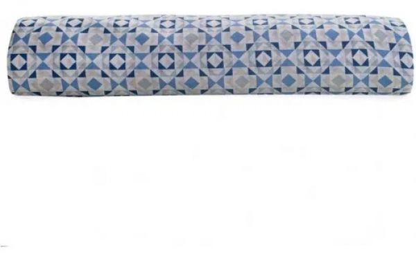 Lençol com elástico casal royal 100% algodão estampado Lipe Azul - Santista