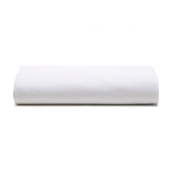 Lençol com elástico Unique 180 fios 100% algodão Branco - Santista