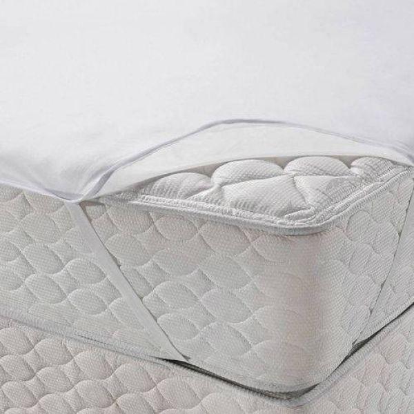 Protetor de colchão impermeável King size - Protege com alças - Santista