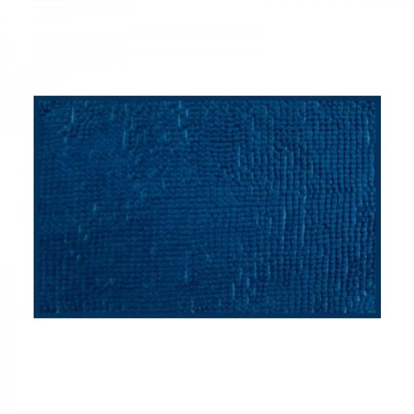 Tapete para banheiro antiderrapante azul - Camesa