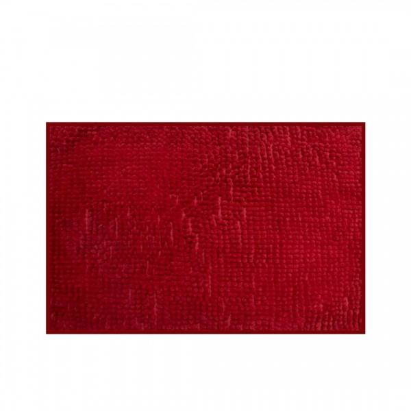 Tapete para banheiro antiderrapante vermelho - Camesa