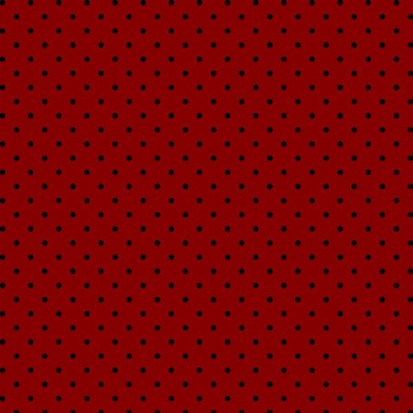 Tecido Tricoline estampado Poá Preto fundo vermelho