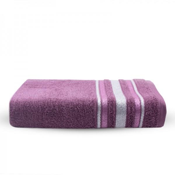 Toalha de Banho 100% Algodão Santista Serena - Roxa