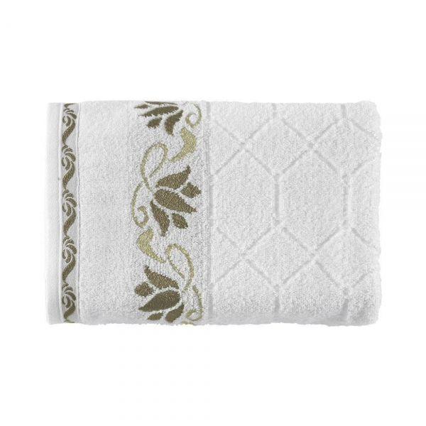 Toalha de banho Amarilis Branco - Kasten