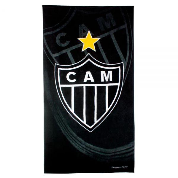 Toalha de banho Buettner estampada time Atlético Mineiro
