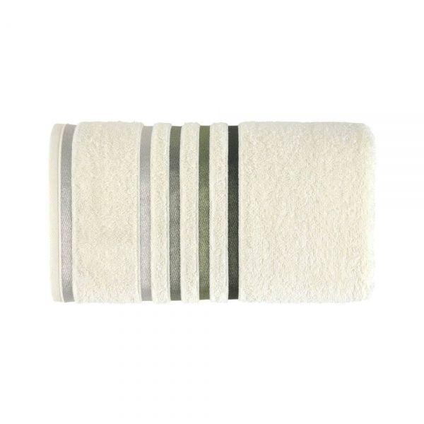 Toalha de banho Lumina - Ivory/Verde - Karsten