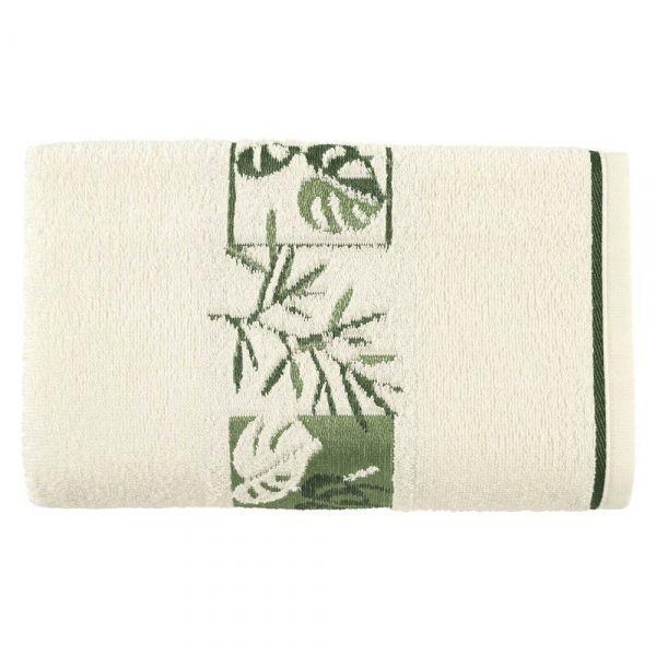 Toalha de banho Magnolia Ivory/Verde