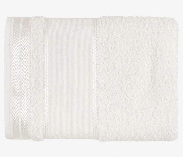 Toalha de Banho Para Bordar Sabrine Branco - Kasten