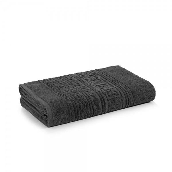Toalha de banho Selene Carbono 100% algodão fio cardado - Karsten