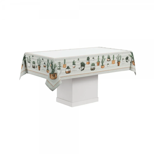 Toalha de mesa redonda 4 lugares Mila 1,60m - Karsten Cada Dia Antiformiga