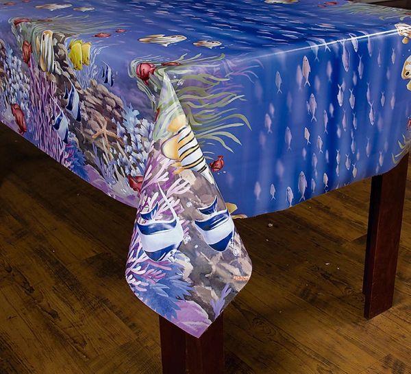 Toalha de mesa térmica Aquário