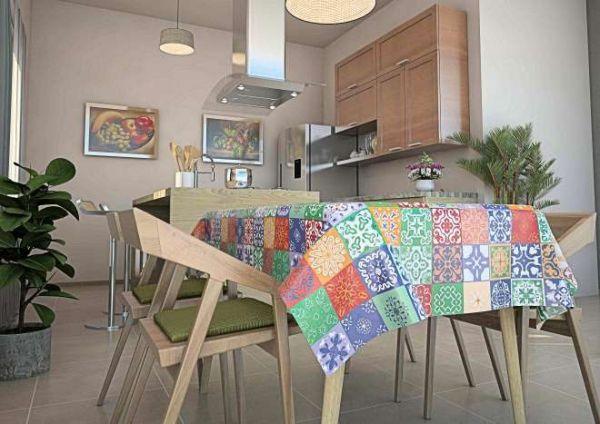 Toalha de mesa Térmica  Azulejo Hidráulico