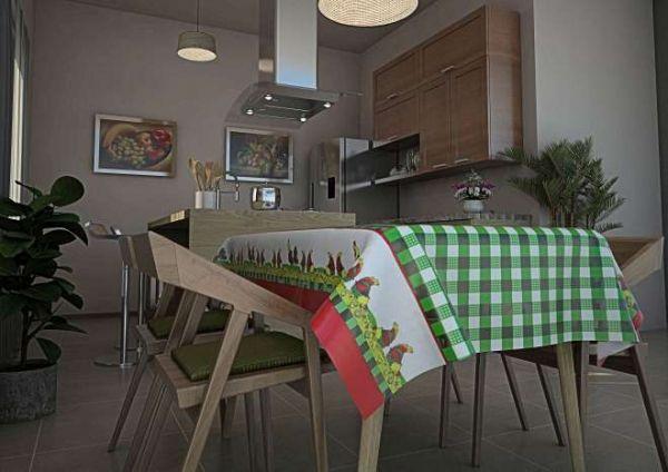 Toalha de mesa Térmica Cocoricó