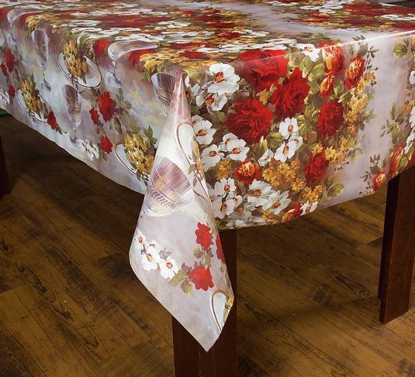 Toalha de mesa térmica Dekorama Rosa Vermelho