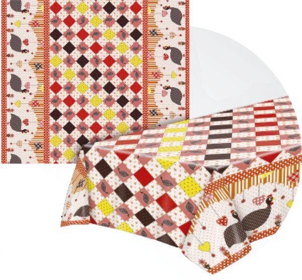 Toalha de mesa Térmica Galinha da angola