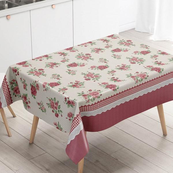 Toalha de mesa Térmica Sofia Vermelha