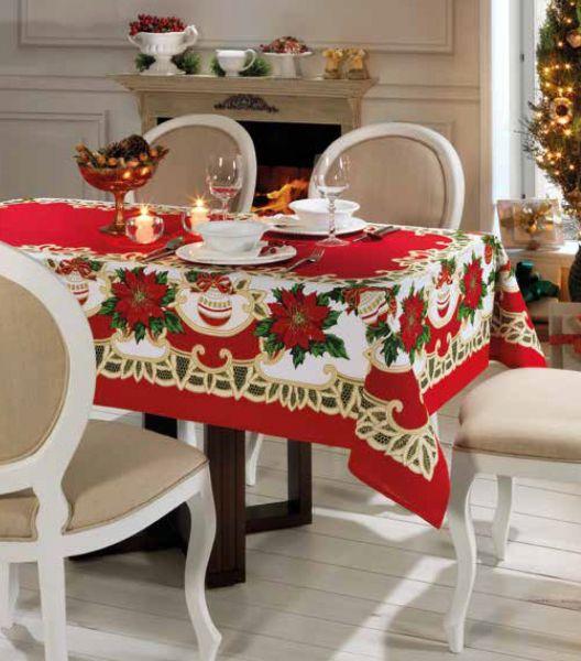 Toalha de mesa natal 6 lugares - Natal 73 Genebra Dohler
