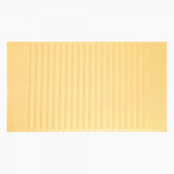 Toalha de Piso Ondulato Amarelo 100% algodão - Trussardi