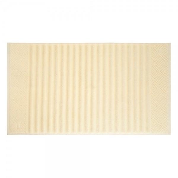 Toalha de Piso Ondulato Amarelo Claro 100% algodão - Trussardi
