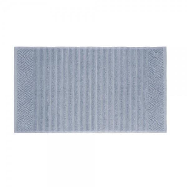 Toalha de Piso Ondulato Azul Lavanda 100% algodão - Trussadi