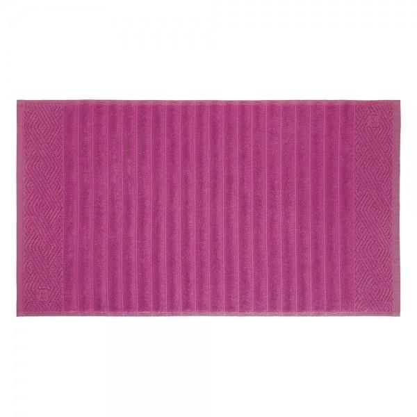 Toalha de Piso Ondulato Pink 100% algodão - Trussardi