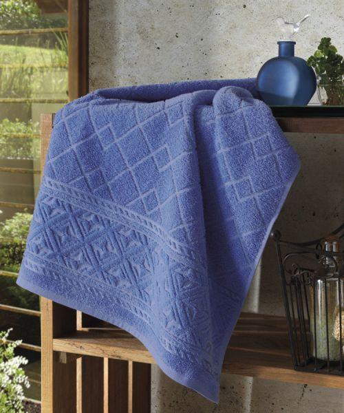 Toalha de banho Jacquard Confort Azul Marinho - Dohler