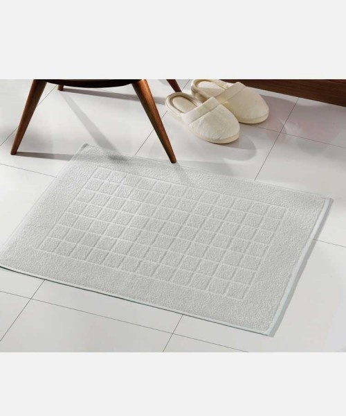 Toalha para piso Felpudo Cinza Liso Royal II - Dohler