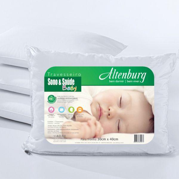 Travesseiro para bebê - Sono e Saúde baby - Altenburg