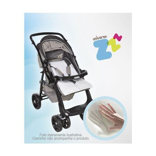 Assento estofado de visco para carrinho - Baby Comfort Fibrasca - Grafite