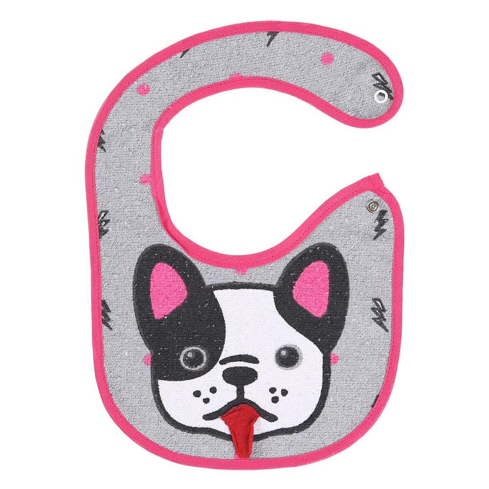 Babador para bebê 3D estampado Cachorro - Bambi
