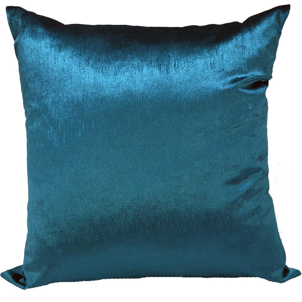 Capa de almofada 45 x 45cm Suede Aveludada Lisa  - Azul