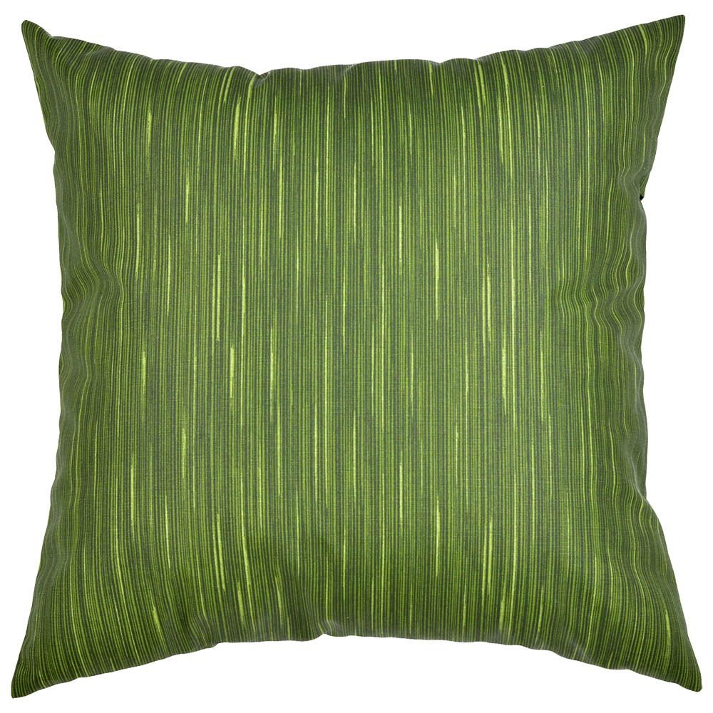 Capa de almofada decorativa 45x45 impermeável estampada verde