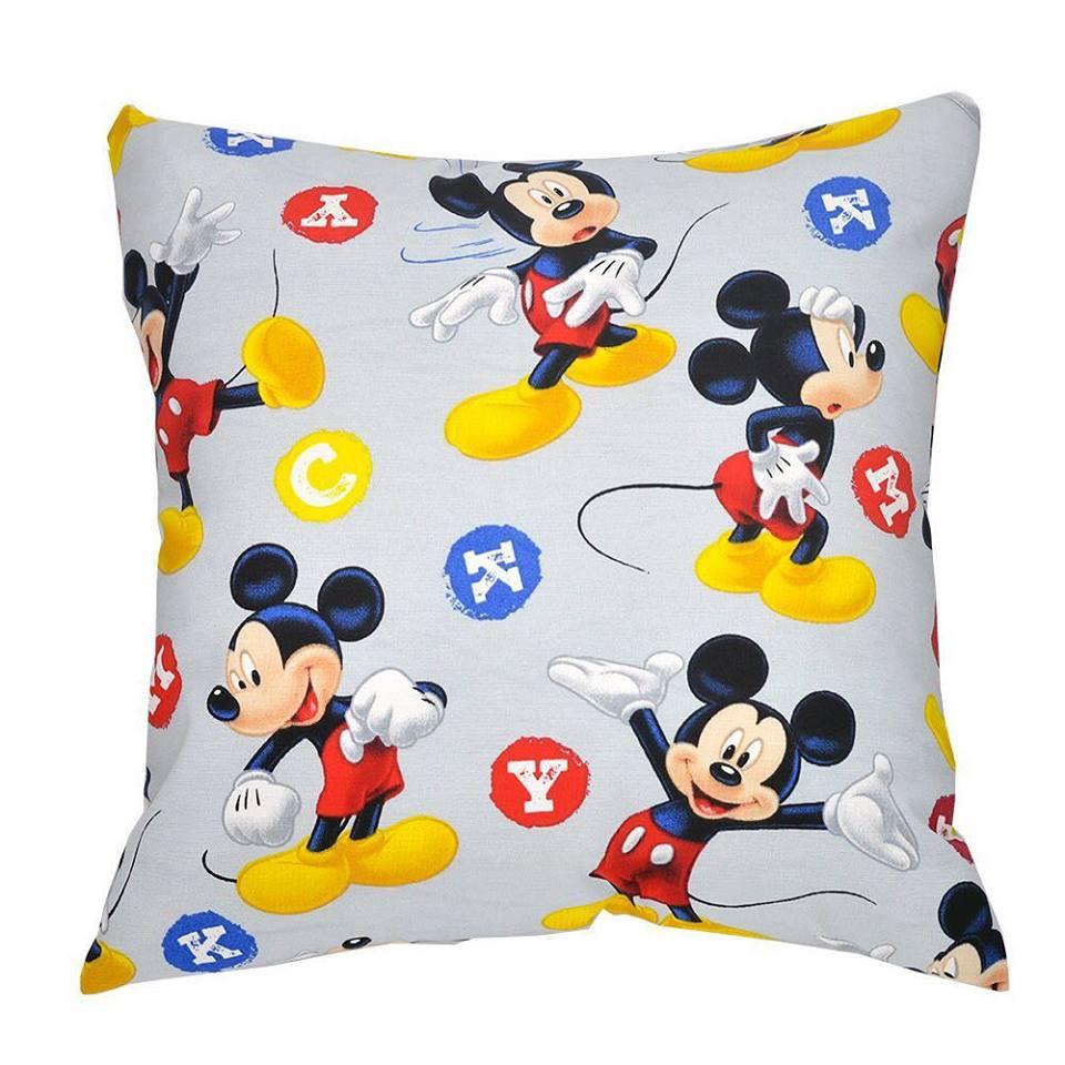 cebc9102b43b30 Capa de almofada decorativa infantil Mickey Mouse