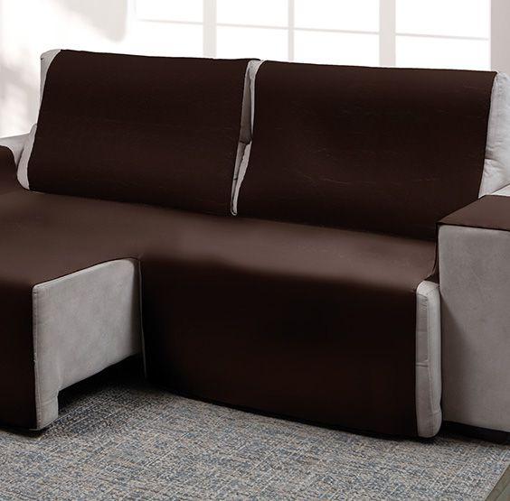 Capa para sofá retrátil Ônix para assento de 1,60m marrom - Adomes